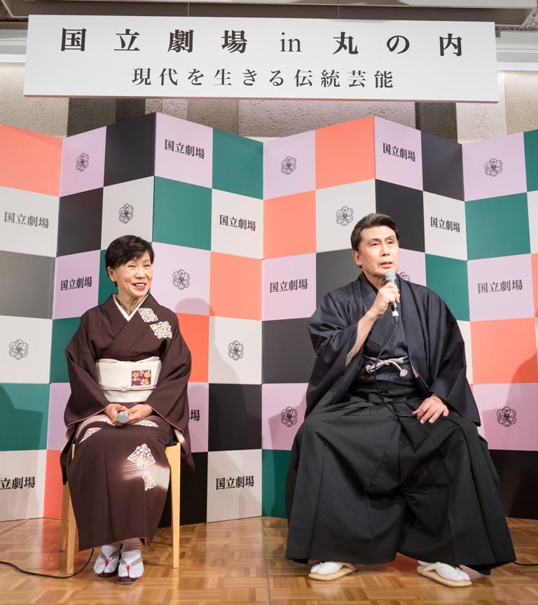 松本幸四郎と田中優子